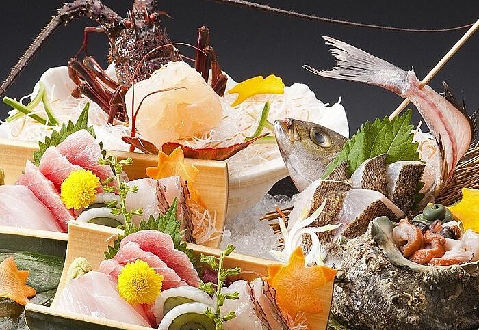 宿中屋 季節の大漁会席プラン 写真