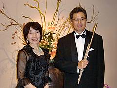 フルートとピアノ オブリジェ
